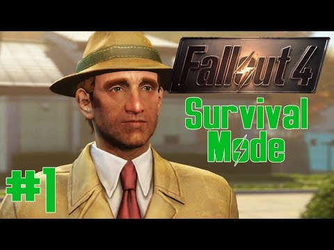 THE SOFTLOCK CURSE   Fallout 4: Survival Mode Gameplay [TWITCH VOD]