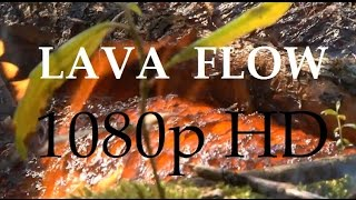 11/09/2014 -- WOW! Lava Flow up close in 1080p HD - Pahoa, Hawaii (Dept. of Defense)