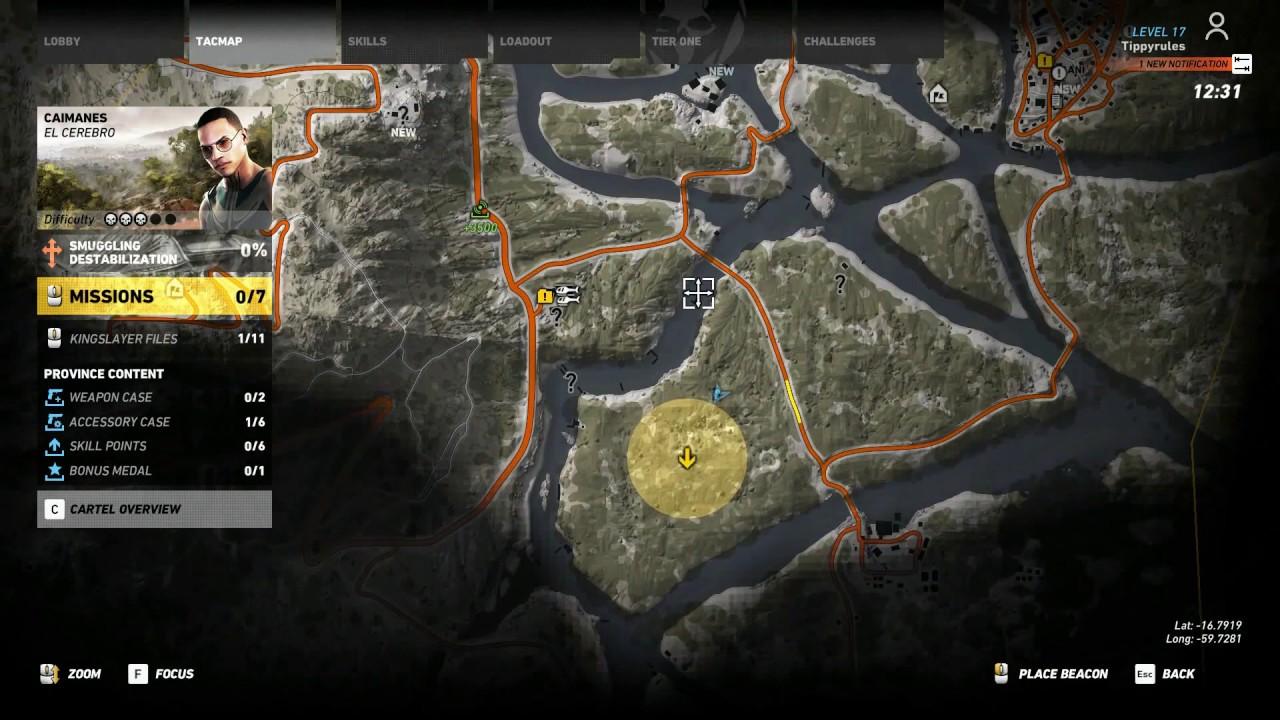 ghost recon wildlands predator event location and start point  - ghost recon wildlands predator event location and start point