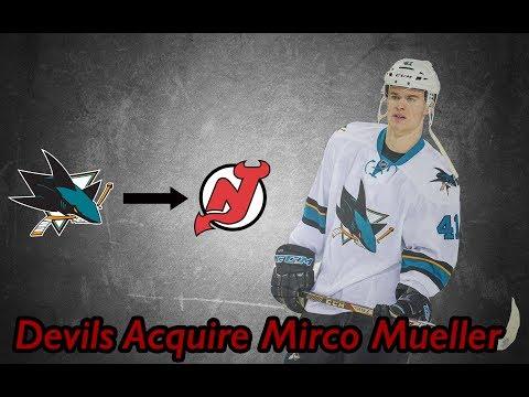 Devils Acquire Mirco Mueller! 130e48336