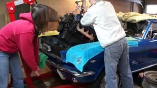 1966 Mustang 289 V8 Engine Pull