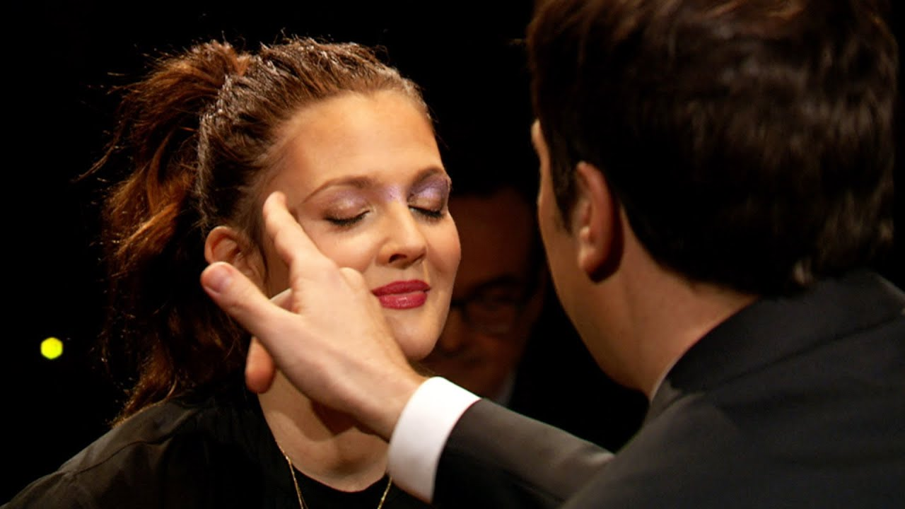 Rouge-lette with Drew Barrymore (Late Night with Jimmy ...
