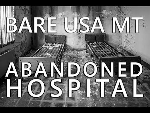 BARE USA  MT | Urban Exploration at the Abandoned St Marie Hospital near Glasgow Air Force Base