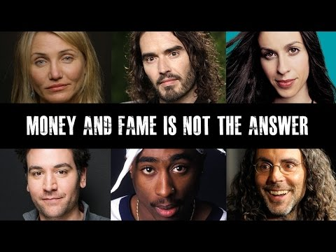 Celebrities Speak Out On Fame & Materialism