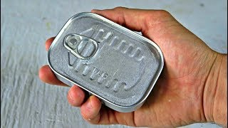 Tuna Can Survival Kit Unboxing
