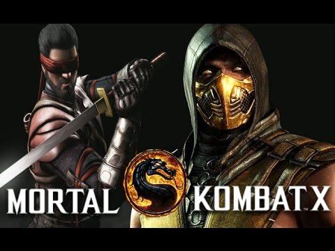 mortal kombat xkenshi vs scorpion youtube