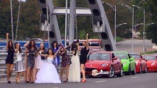 Клуб японских авто, свадебный драйв. Свадьба.