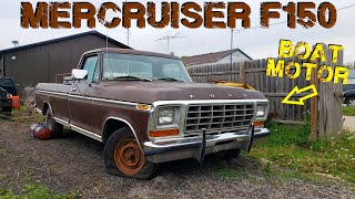 Can We Swap a BOAT ENGINE into a TRUCK? 1979 F150 Revival