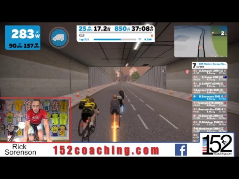 Rick Sorenson Zwift  Masters 1230 Eastern Time US Race-Live Stream