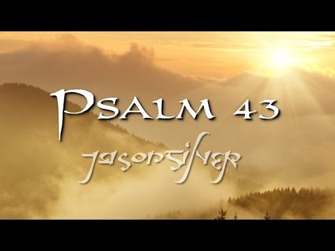 🎤 Psalm 43 Song with Lyrics  Why So Downcast  Celtic  Jason Silver WORSHIP SONG