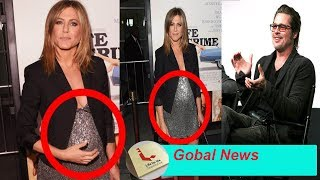 Jennifer Aniston finally notification pregnant with Brad Pitt