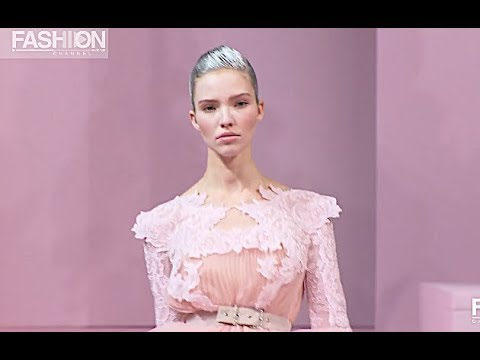 ALEXIS MABILLE Spring Summer 2013 Paris Haute Couture – Fashion Channel