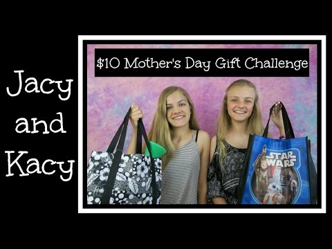 10 Dollar Mother's Day Gift Challenge ~ Jacy and Kacy