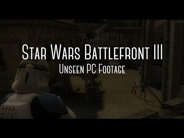 battlefront 3 cancelled