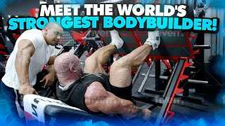 MEET THE WORLD'S STRONGEST BODYBUILDER! 330LBS/150KG!