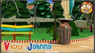 Vicky & Johnny | Episode 28 | HIDE AND SEEK | Full Episode for Kids | 2 MIN