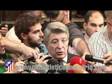 Enrique Cerezo tras el mensaje del Kun Agüero anunciando que quiere marcharse del Atlético