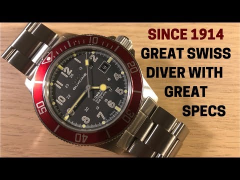 This Under $500 Swiss Diver Has The History And The Specs - Glycine Combat Sub Review