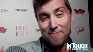 Lance Bass Tells In Touch About Justin And Jessica's Wedding In Italy At The Maxim Hot 100 Party