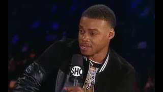 ERROL SPENCE REACTS TO PACQUIAO DEFEATING MATTHYSSE TO WIN WBA TITLE