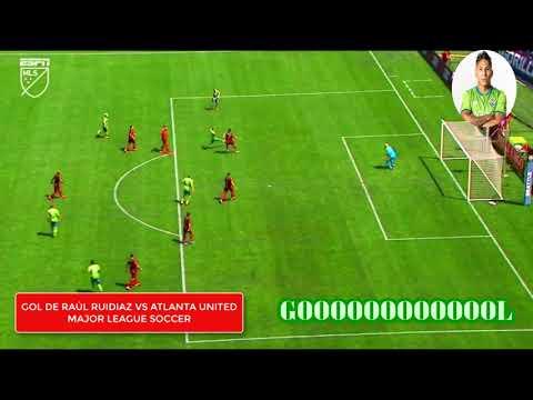 Seattle Sounders vs. Atlanta United - golazo de Raúl Ruidíaz (14/07/2019)
