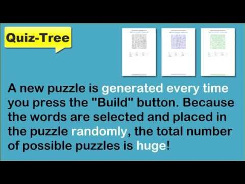 How to Create Unique Sight Words Wordsearch Printables.