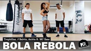 Baixar Bola Rebola - Tropkillaz, J Balvin, Anitta ft. MC Zaac (Coreografia MR)