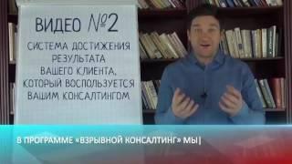 Взрывной консалтинг Видео №2  консалтинг литература