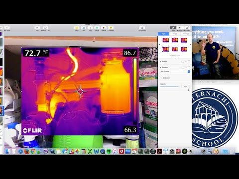Tips on Using Infrared During a Home Inspection Class