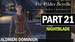 The Elder Scrolls Online PS4 Walkthrough Part 21 - Let