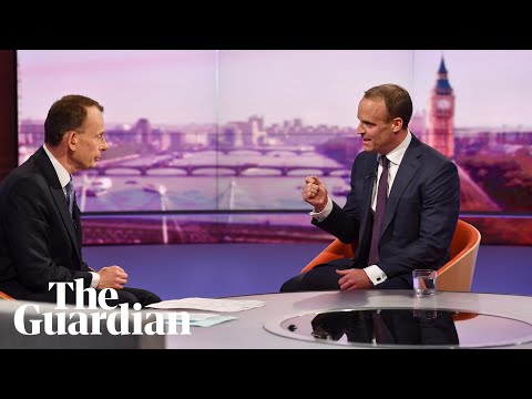 Raab says he would 'not delay Brexit beyond 31st October' as he joins Tory leadership bid