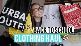Back to School Clothing Haul 2015