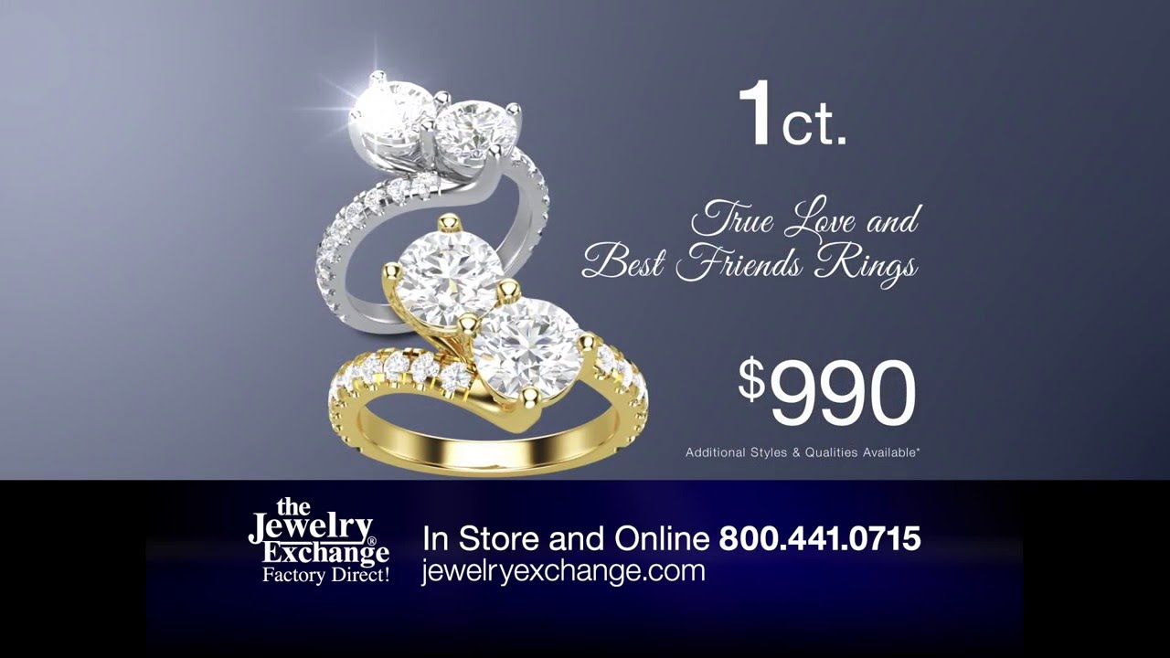 1ct Two Stone True Love And Best Friend Ring Youtube