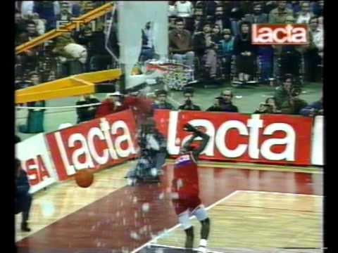 All Star game 1991 John Hutson slum dunk!!!