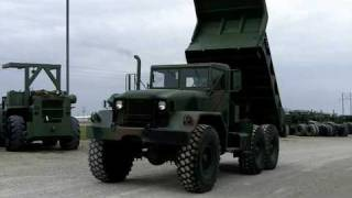M51A2 Kaiser 5 Ton 6X6 Dump Truck