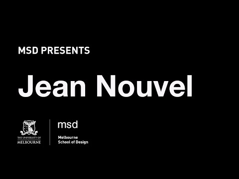 MSD Presents: Jean Nouvel