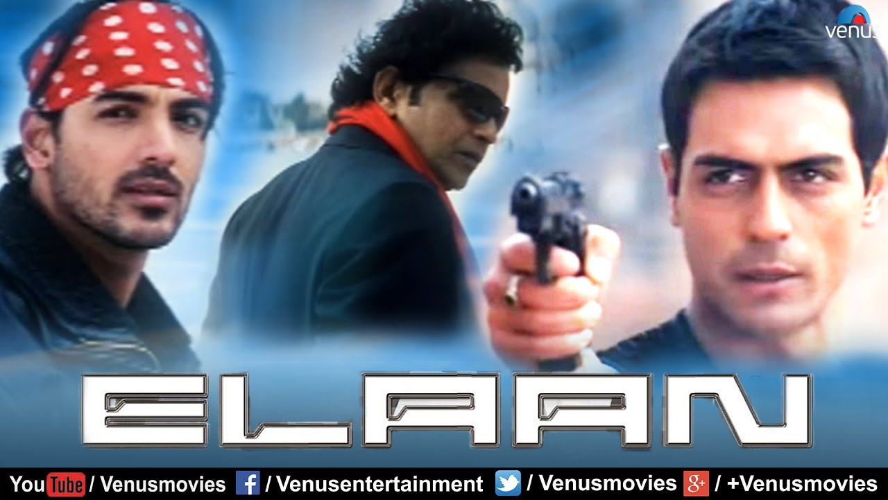 elaan | hindi full movie | john abraham | arjun rampal | ameesha