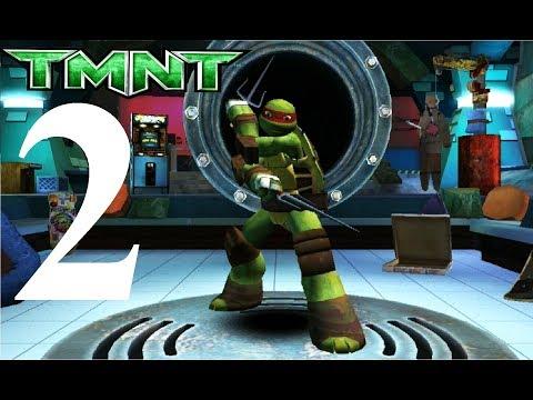Черепашки ниндзя бег по крышам #2 мультик игра для детей о ниндзя черепашках TMNT ROOFTOP RUN