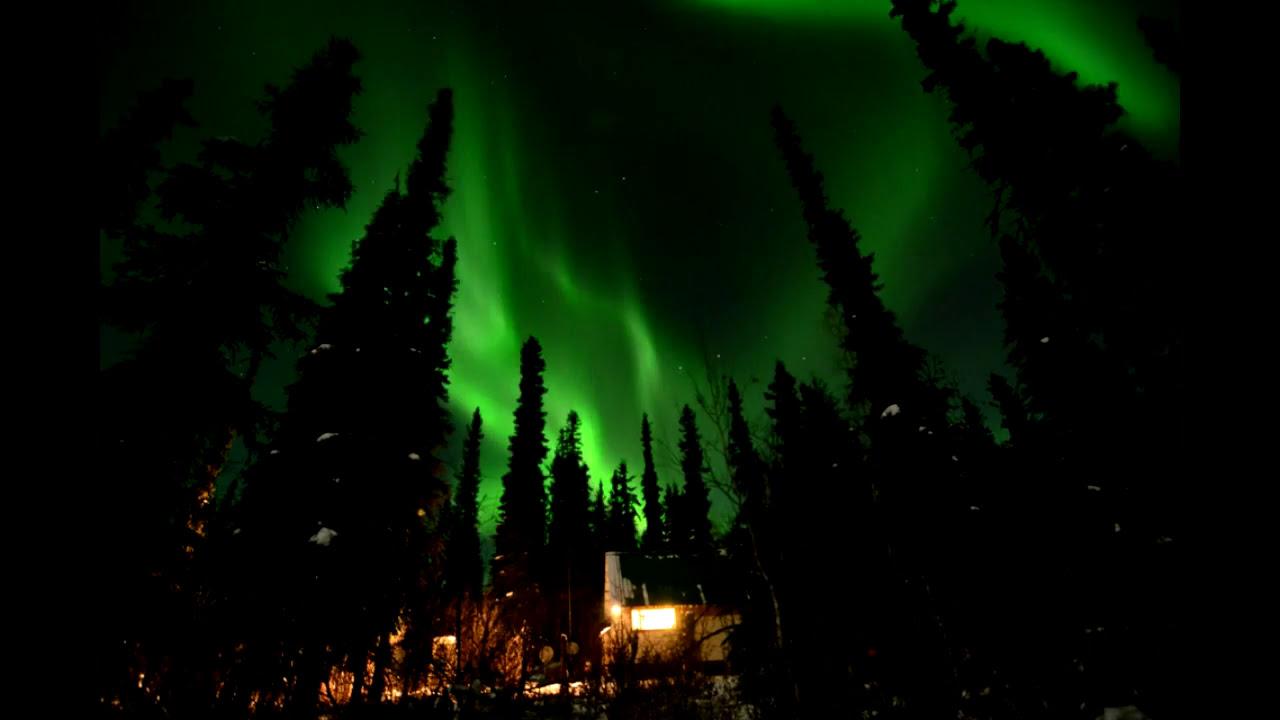 Aurora Borealis  Fairbanks Alaska  November  YouTube