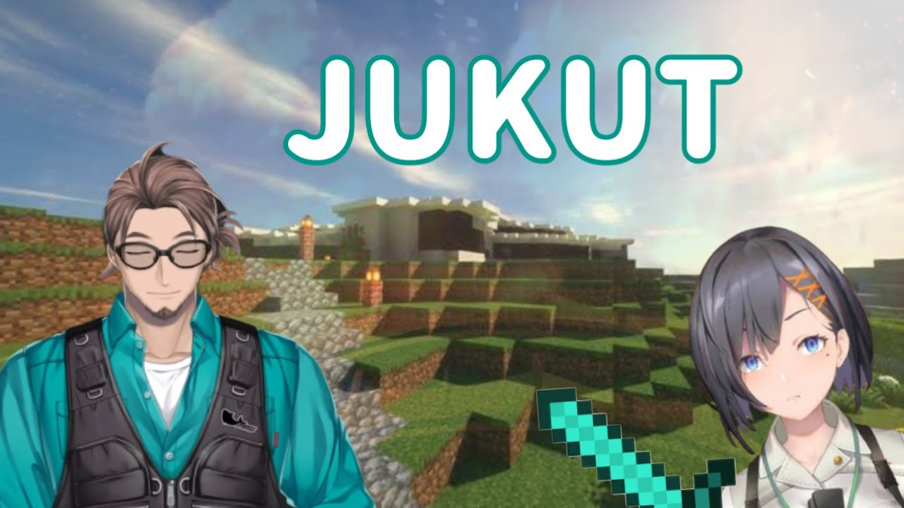 "【Nijisanji ID Clip】""Mau Jukut?"" Bonnivier dan Minecraft Maha Siska #1"