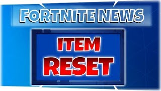 NEWS ~ Item Resetting & Recycling - Fortnite StW | PvE