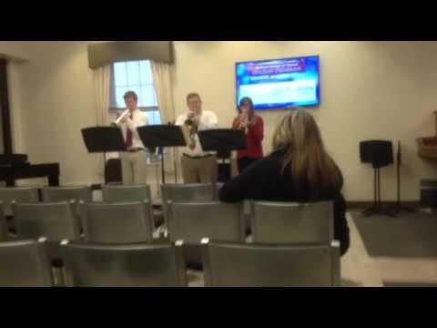 Dedham Middle School trumpet section #3