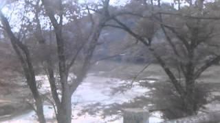 空っぽの安濃ダム