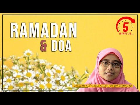 5 Minit Jer Ep 19: Ramadan dan Doa