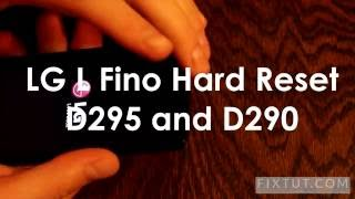 ✅ How to factory reset LG L Fino D290 and D295 - Working method