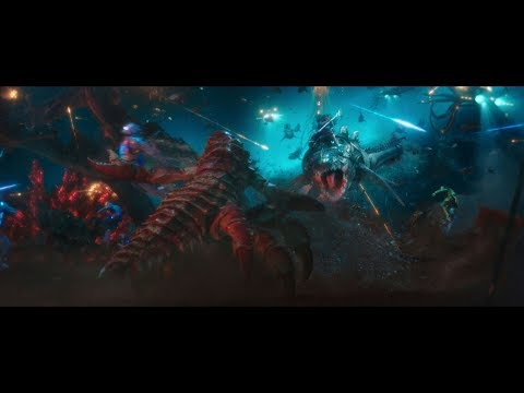 AQUAMAN Final Underwater  Fight Scene   Part 1  1080p