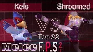 GHQ|Kels (Marth) vs. IMT|Shroomed (Sheik) - Melee Top 32 - FPS2