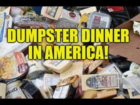 AMERICANS SCAVENGE DUMPSTERS TO SURVIVE! UNEMPLOYMENT BENEFITS FAIL, ECONOMIC COLLAPSE EXPANDS