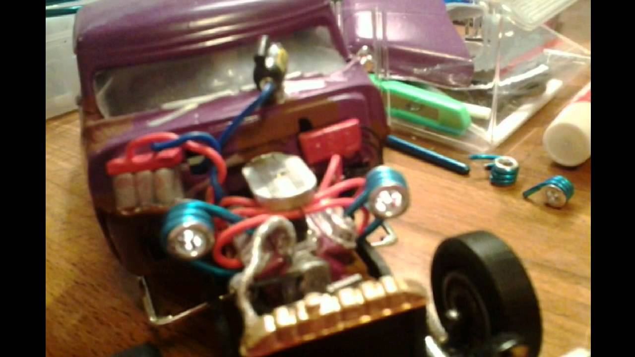 Model Cars Scratch Build Turbo Youtube
