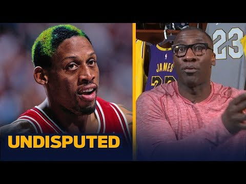Shannon calls 'bulljive' on Dennis Rodman saying he could guard LeBron | NBA | UNDISPUTED